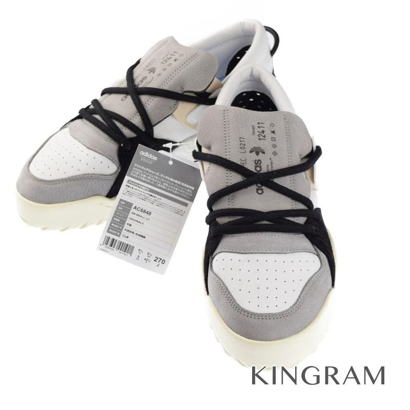 アディダス adidas ×アレキサンダーワン 未使用タグ付 27.0cm MADE IN CHINA AC6848 合成繊維 ゴム底 メンズ スニーカー rtk 【中古】