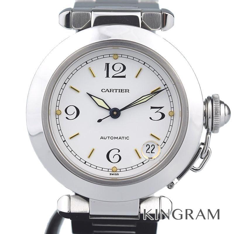 カルティエ Cartier パシャC Ref.W31010M7 OH 外装仕上げ済 自動巻 男女兼用腕時計 rkd 【中古】