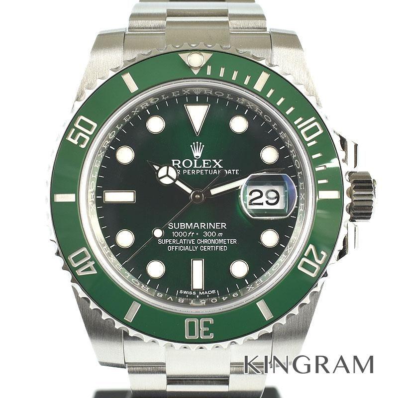 ロレックス ROLEX サブマリーナデイト グリーンサブ Ref.116610LV ランダム 自動巻 メンズ 腕時計 yate 【中古】