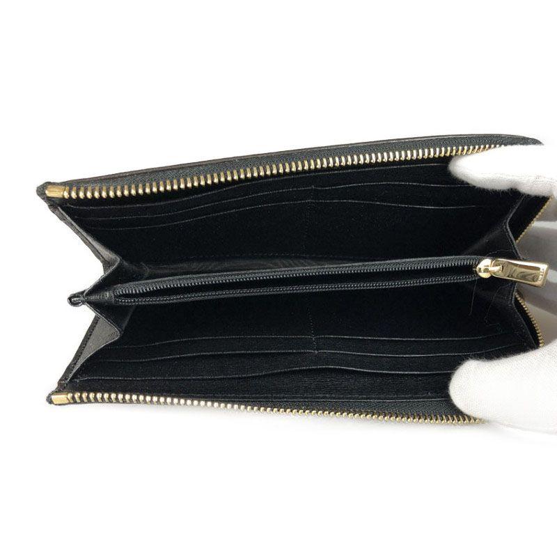5ddcfebe27c7 フルラ FURLA バビロン ブラック PVC レディース財布 mo 【中古】 L字 ...