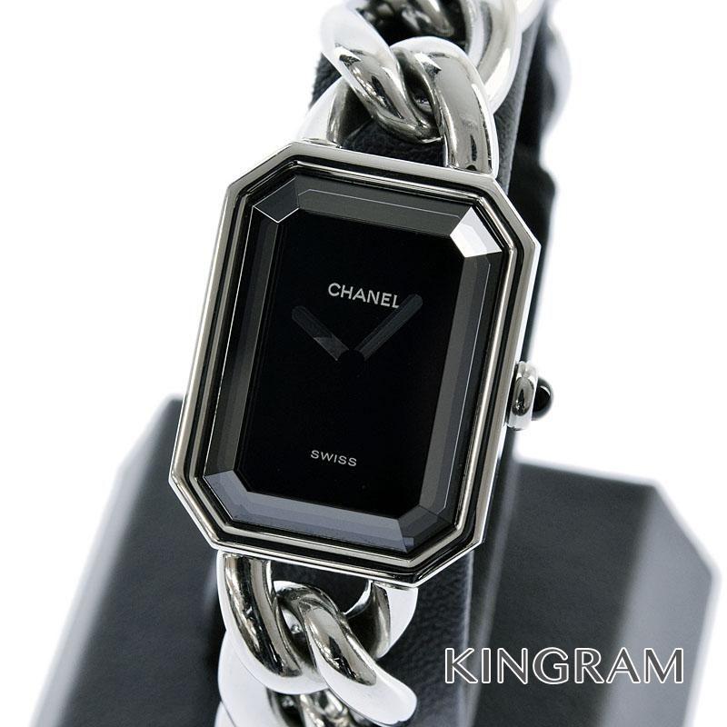 シャネル CHANEL プルミエール Lサイズ Ref.H0452 チェーン クォーツ レディース 腕時計 hs 【中古】