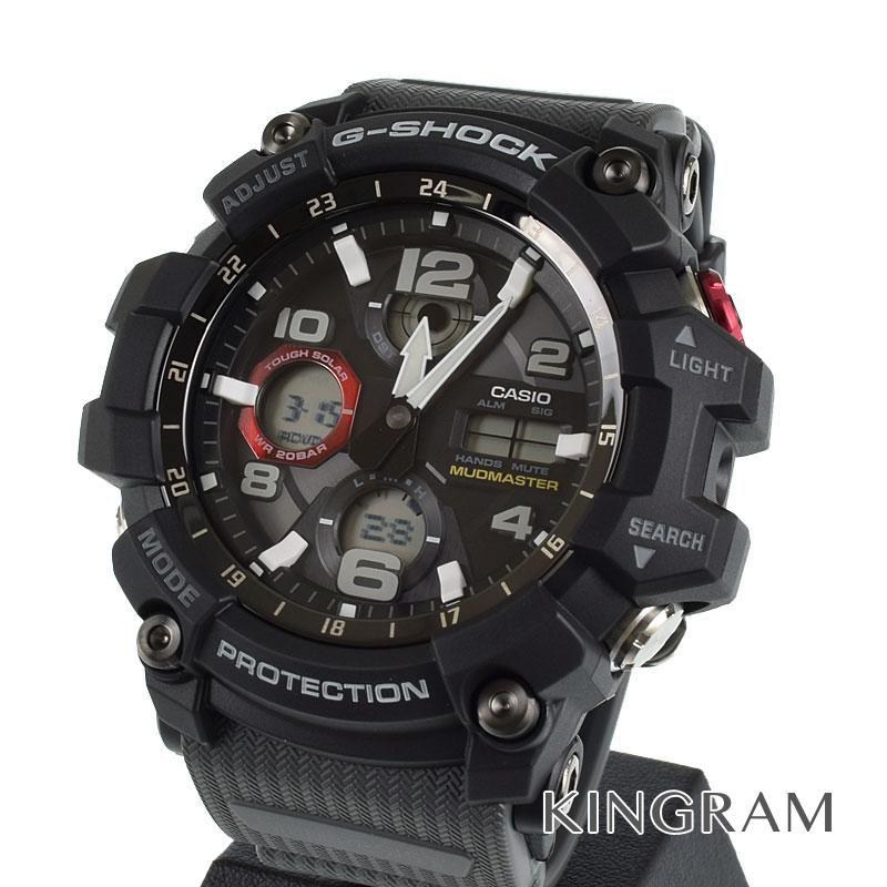 カシオ CASIO G-SHOCK Ref.GWG-100-1A8JF Gショック マッドマスター ソーラークォーツ メンズ 腕時計 rna 【中古】