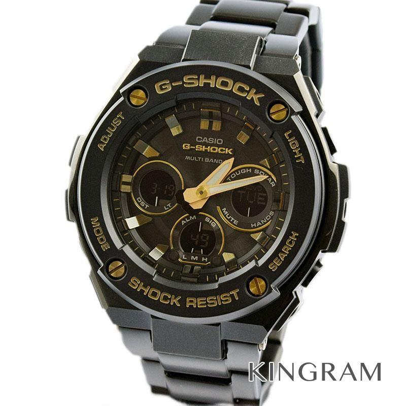 カシオ CASIO G-SHOCK Ref.GST-W300BD 電波 ソーラークォーツ メンズ 腕時計 ria 【中古】