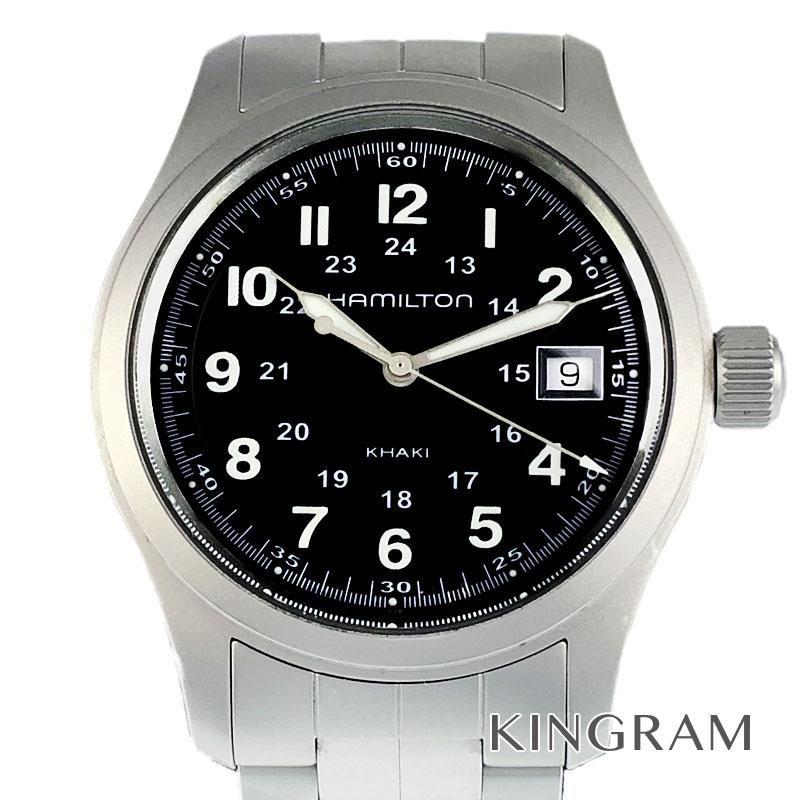 ハミルトン HAMILTON カーキ フィールド Ref.H68411133 電池交換済 クォーツ メンズ 腕時計 ec 【中古】