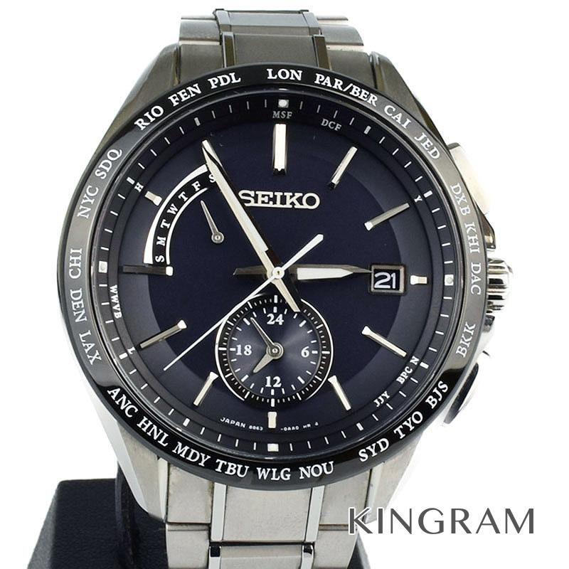 セイコー SEIKO Ref.8B63-0AA0 SAGA229 ソーラークォーツ メンズ 腕時計 kmgi 【中古】