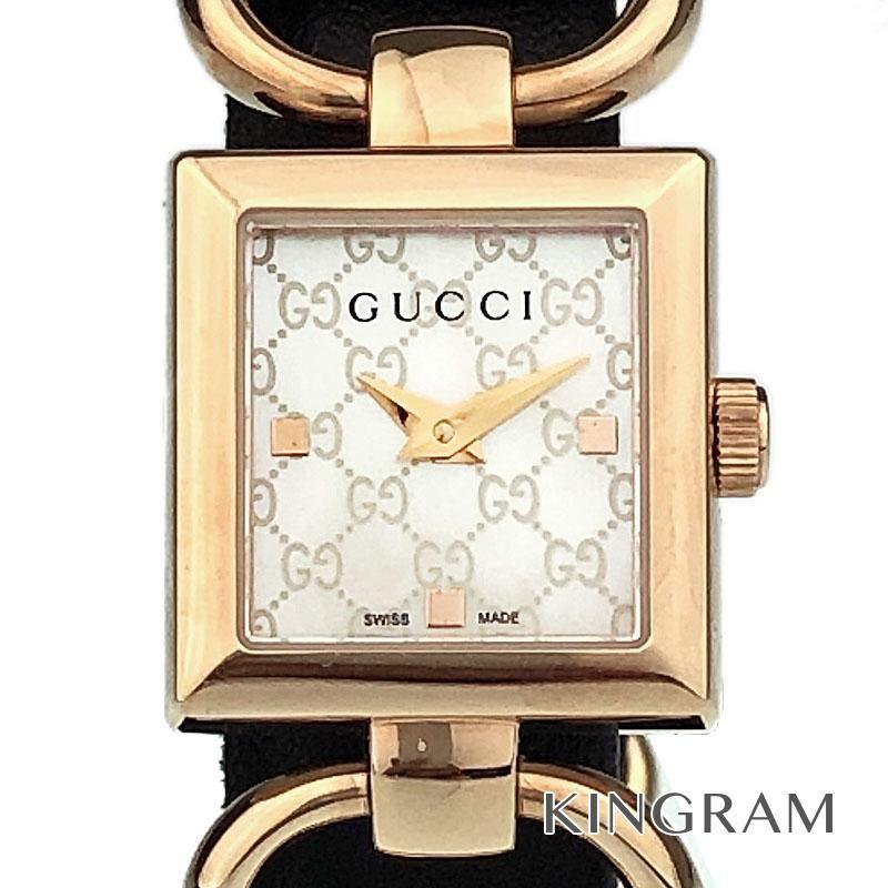 グッチ GUCCI 120 トルナヴォーニ Ref.YA120519 アウトレット クォーツ レディース 腕時計 ec 【中古】