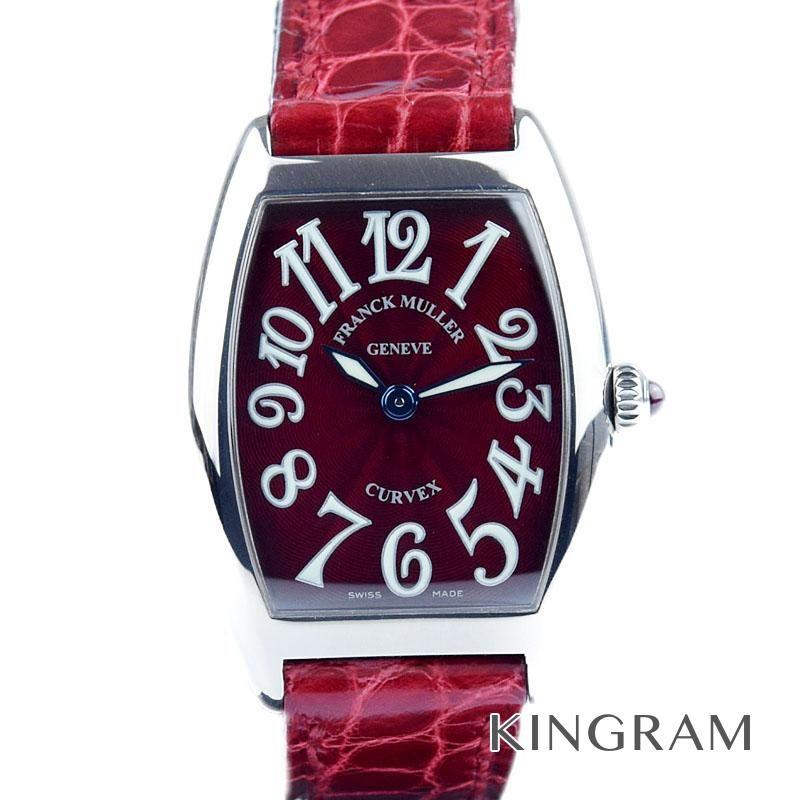 フランク ミュラー FRANCK MULLER Ref.1752QZ トノーカーベックス クォーツ レディース 腕時計 mite 【中古】