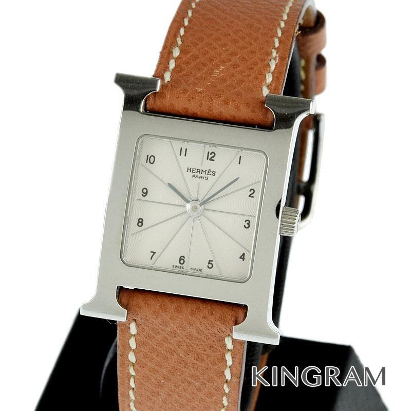 エルメス HERMES Ref.HH1.210 Hウォッチ クォーツ レディース 腕時計 rna 【中古】