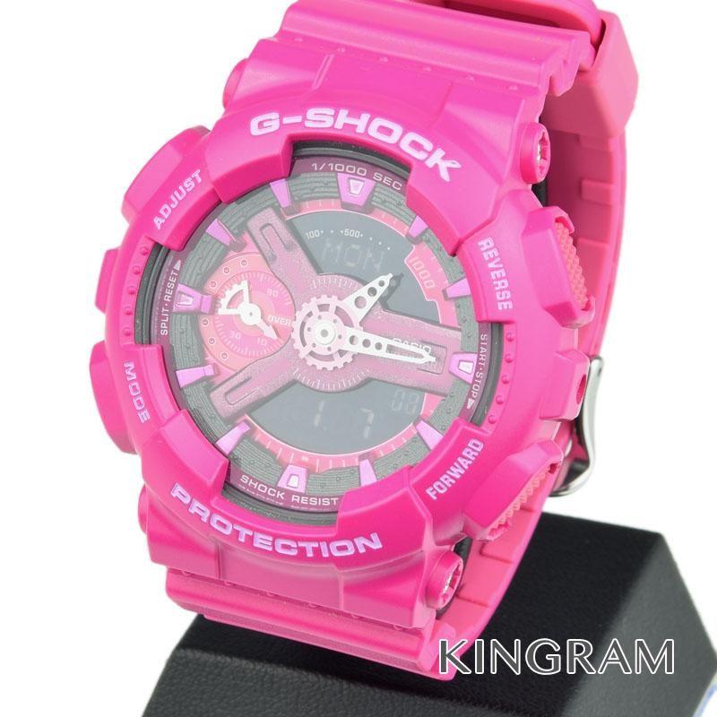 カシオ CASIO G-SHOCK Ref.GMA-S110MP-4A3JR クォーツ レディース 腕時計 ec 【中古】