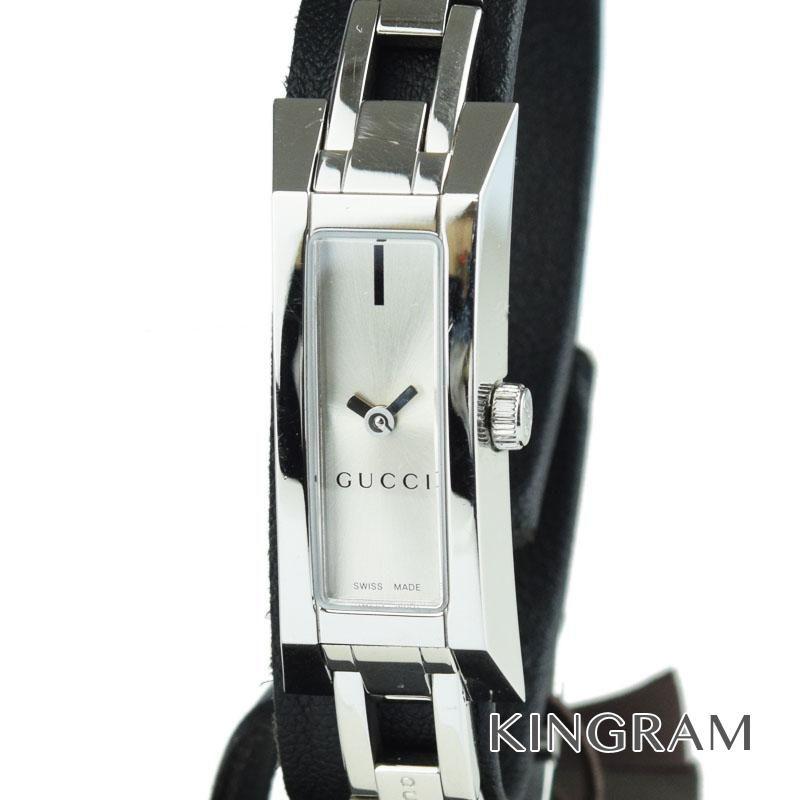 グッチ GUCCI Gリンク 110 Ref.YA110517 クォーツ アウトレット レディース 腕時計 ec 【中古】