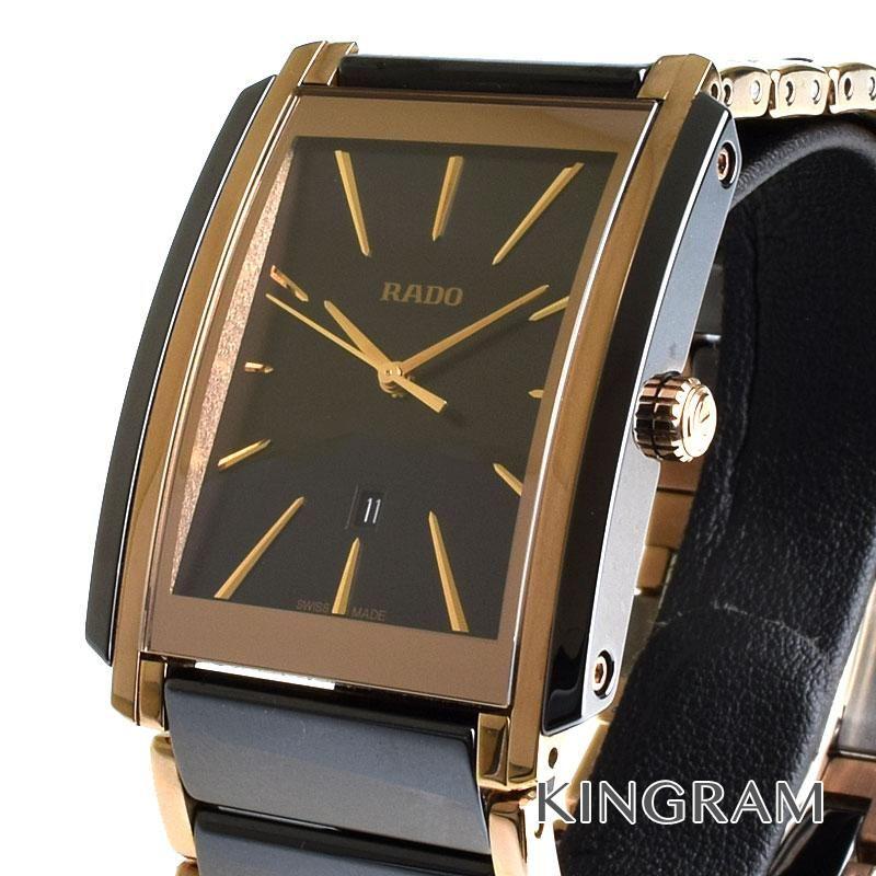 ラドー RADO Ref.212.0962.3 インテグラル R20962152 クォーツ メンズ 腕時計 as 【中古】