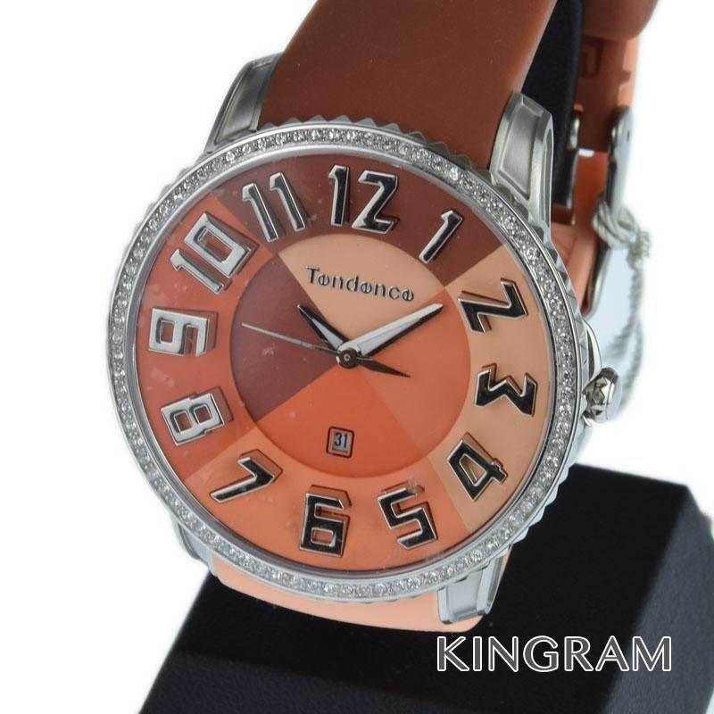 テンデンス Tendence Ref.TE232001 クォーツ メンズ 腕時計 rkd 【中古】