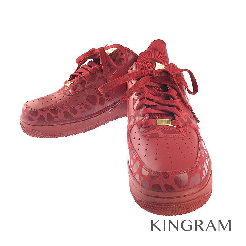 nike air force 1 red color