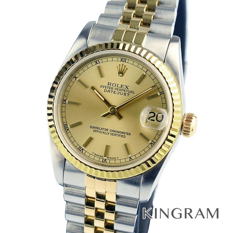 ロレックス ROLEX デイトジャスト ボーイズ Ref.68273 OH済 自動巻 男女兼用腕時計 ki 【中古】