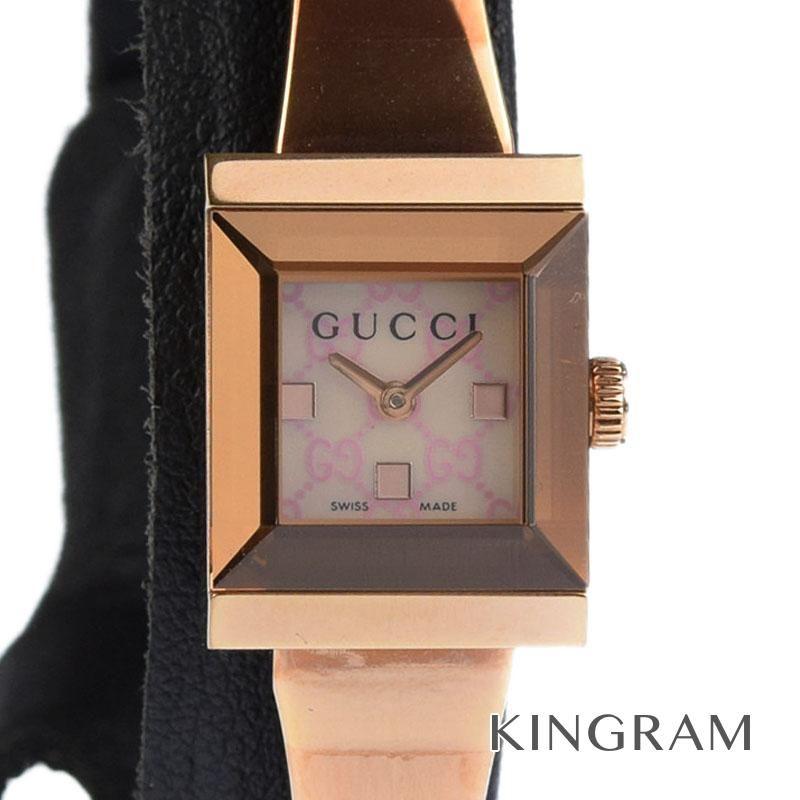 グッチ GUCCI Ref.128.5 YA128518 アウトレット バングルウォッチ クォーツ レディース 腕時計 ec 【中古】