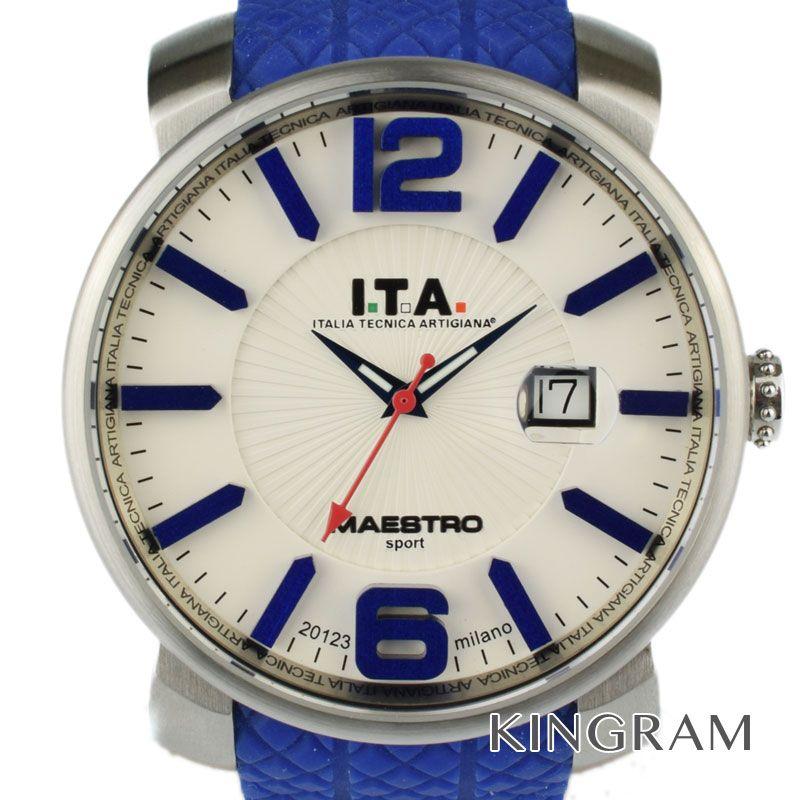 アイティーエー I.T.A Ref.16.01.04 クォーツ メンズ 腕時計 hs 【中古】