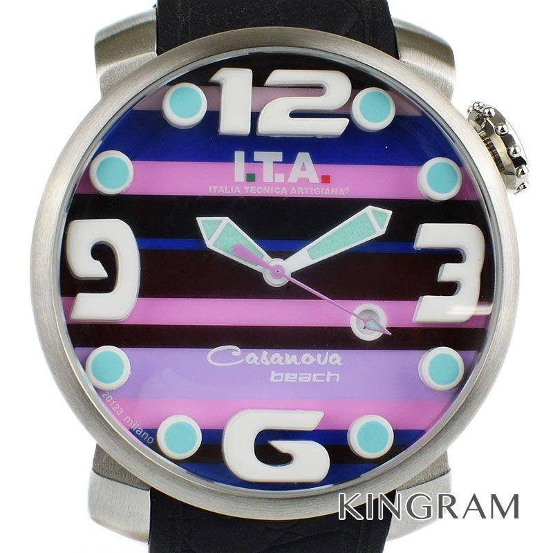 アイティーエー I.T.A Ref.Mod.00.12.43 クォーツ メンズ 腕時計 hs 【中古】
