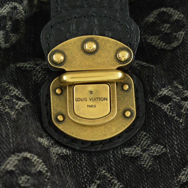 145df27b7c19 ... ルイ・ヴィトン LOUIS VUITTON モノグラム デニムXL M95510 ノワール デニム トートバッグ mo ...