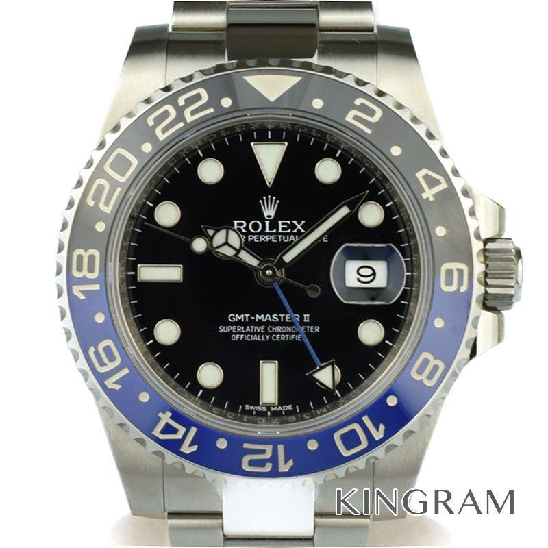 ロレックス ROLEX GMTマスター2青×黒 Ref.116710BLNR ランダム 自動巻 メンズ 腕時計 tyte 【中古】