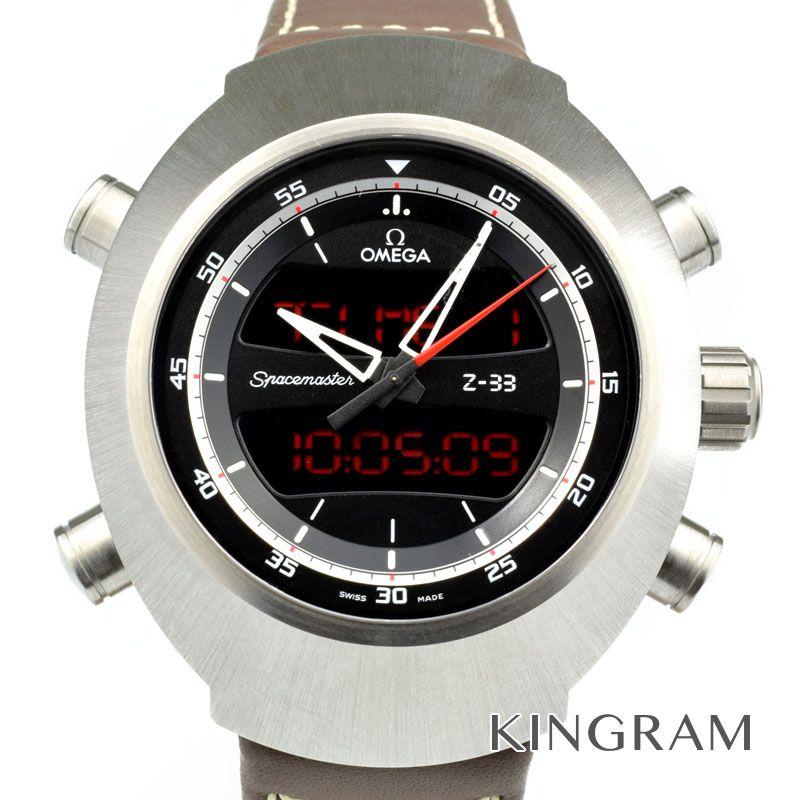オメガ OMEGA スピードマスタースペースマスター Ref.325.92.43.79.01.002 クォーツ メンズ 腕時計 ka 【中古】