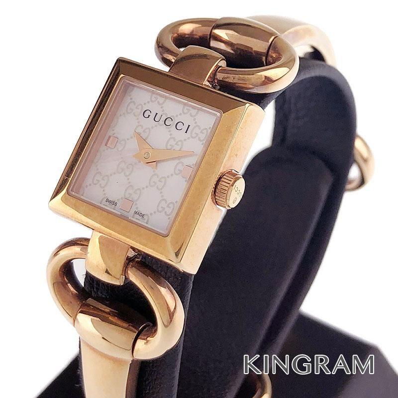 グッチ GUCCI Ref.120 トルヴォーニ クォーツ レディース 腕時計 te 【中古】