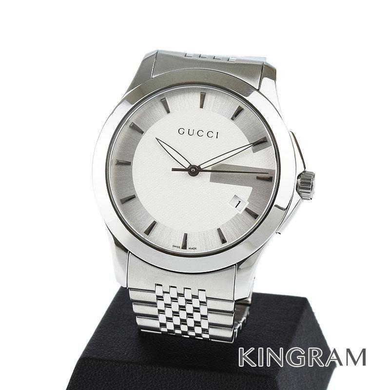 グッチ GUCCI Gタイムレス Ref.126.4 紳士 腕時計 クォーツ メンズ 腕時計 fc 【中古】
