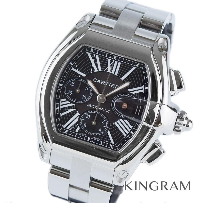 カルティエ Cartier ロードスター クロノグラフ Ref.W62020X6 OH 外装仕上げ済み 自動巻 メンズ 腕時計 rmt 【中古】