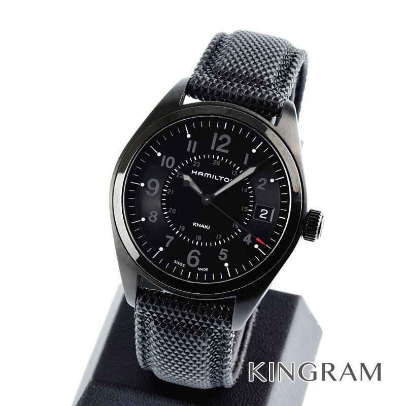 ハミルトン HAMILTON Ref.H68401735 カーキ フィールド クォーツ メンズ 腕時計 rmt 【中古】
