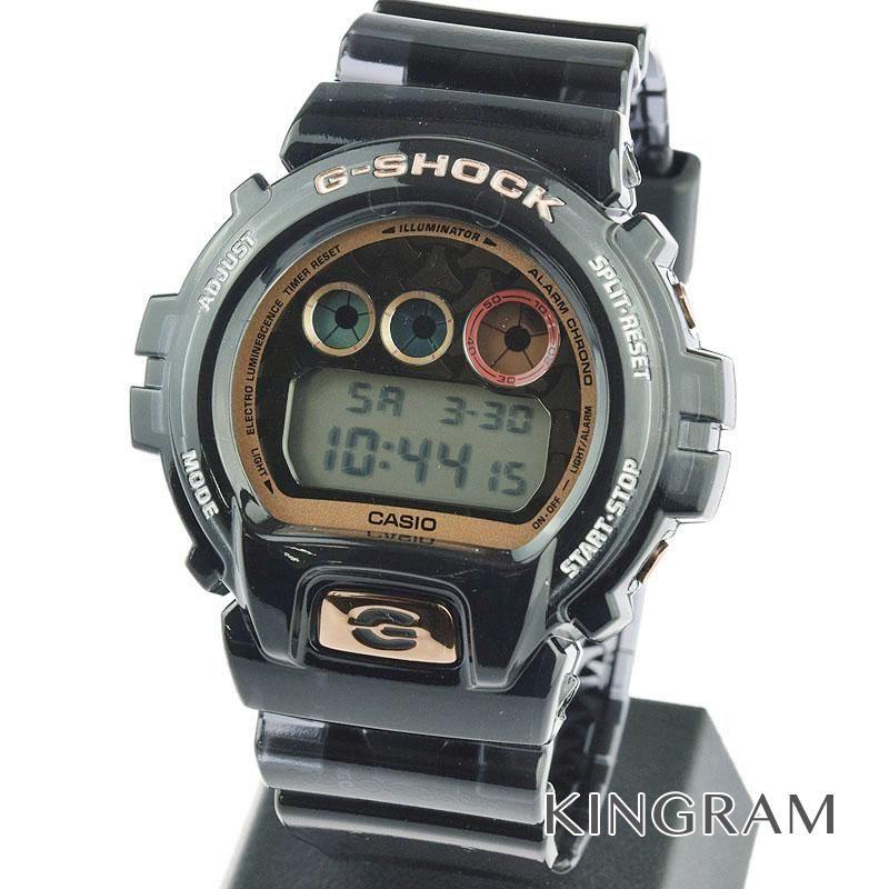 カシオ CASIO G-SHOCK Ref.DW-6900SLG-1JR 七福神 毘沙門天モデル ソーラークォーツ メンズ 腕時計 rhr 【中古】
