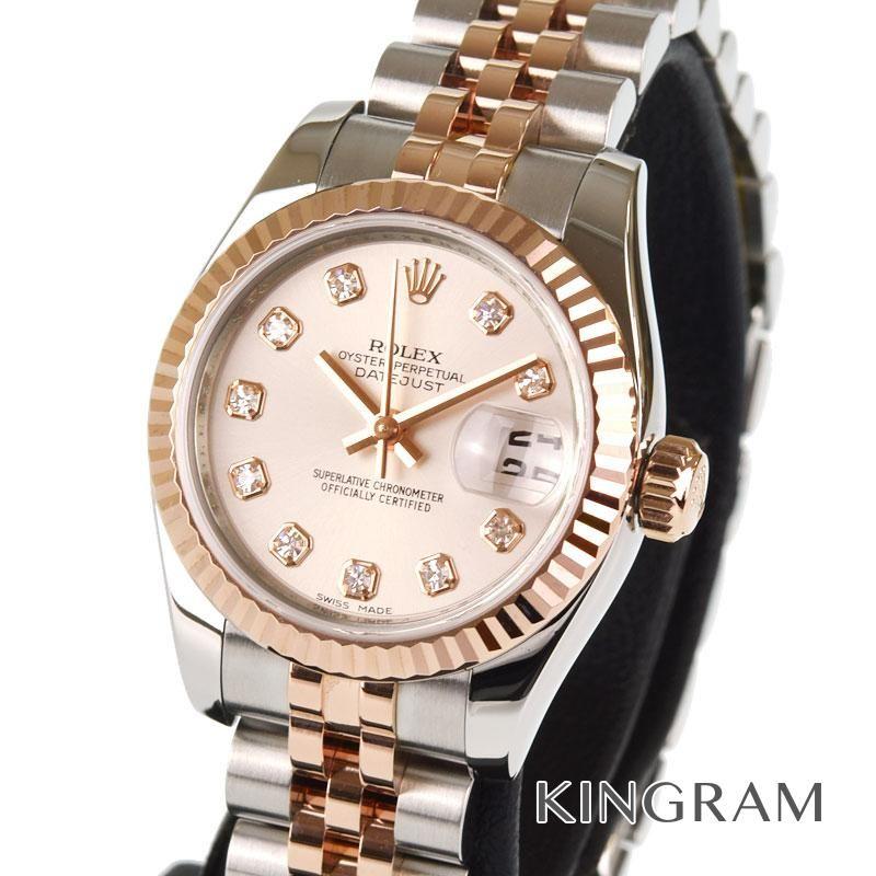 ロレックス ROLEX デイトジャスト レディ Ref.179171G 外装仕上げ済み 自動巻 レディース 腕時計 iz 【中古】