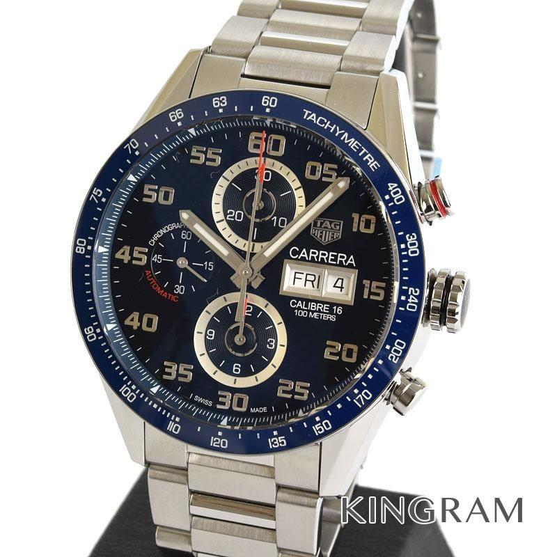 タグホイヤー TAG Heuer Ref.CV2A1V.BA0738 自動巻 カレラ キャリバー16 デイデイト メンズ 腕時計 miju 【中古】
