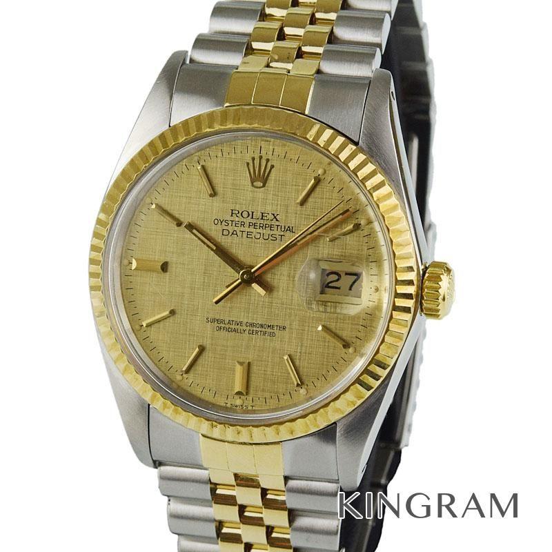 ロレックス ROLEX デイトジャスト Ref.16013 OH済 外装仕上げ済 自動巻 メンズ 腕時計 imte 【中古】