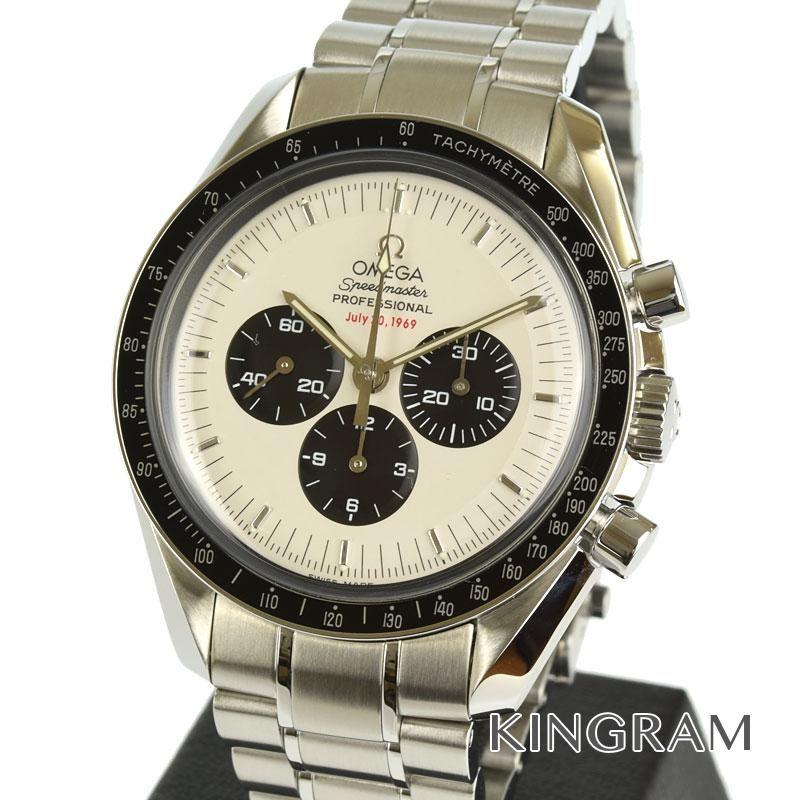 オメガ OMEGA スピードマスター Ref.3569.31 プロフェッショナル アポロ11号 35周年記念 クロノグラフ 3500本限定 手巻 メンズ 腕時計 hste 【中古】
