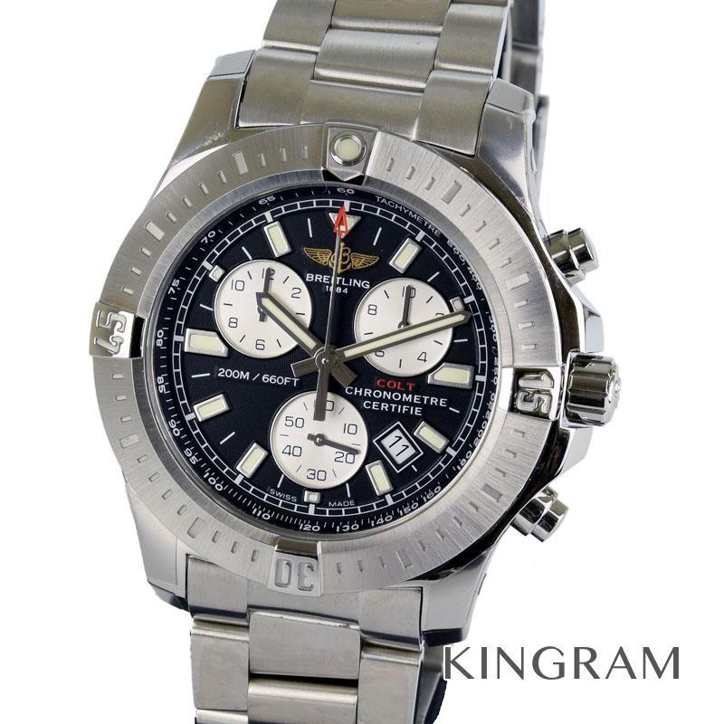 ブライトリング BREITLING Ref.A73388 コルト クロノグラフ クォーツ メンズ 腕時計 migi 【中古】