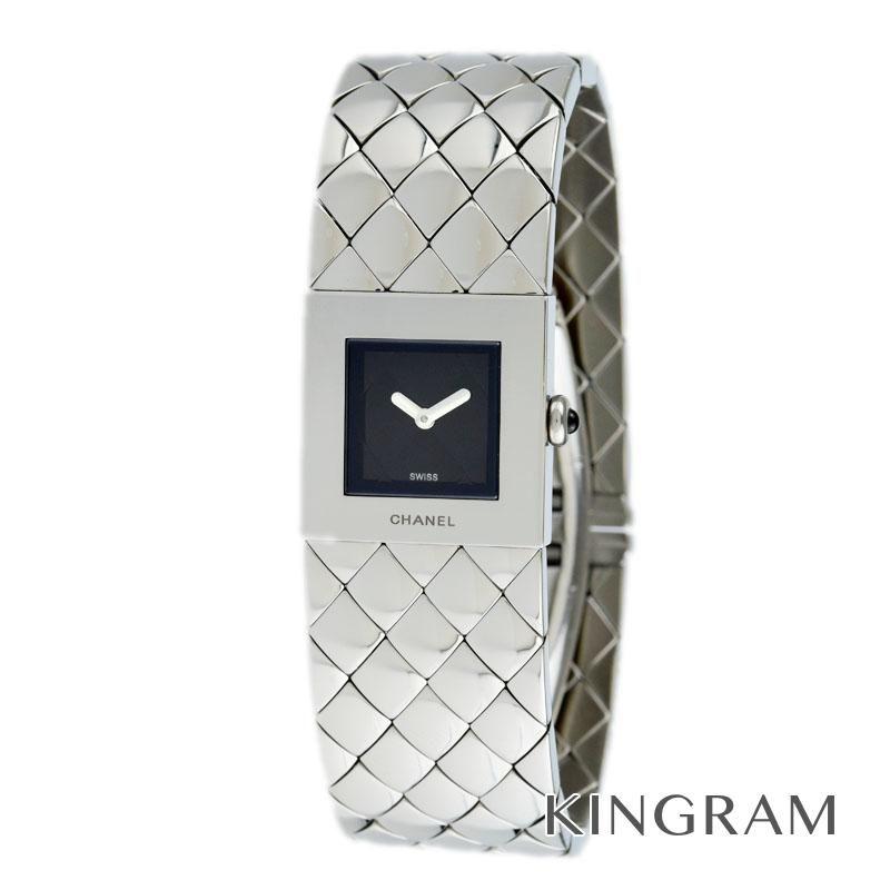 シャネル CHANEL マトラッセ Ref.H0009 電池交換 外装仕上げ済 クォーツ レディース 腕時計 rkd 【中古】