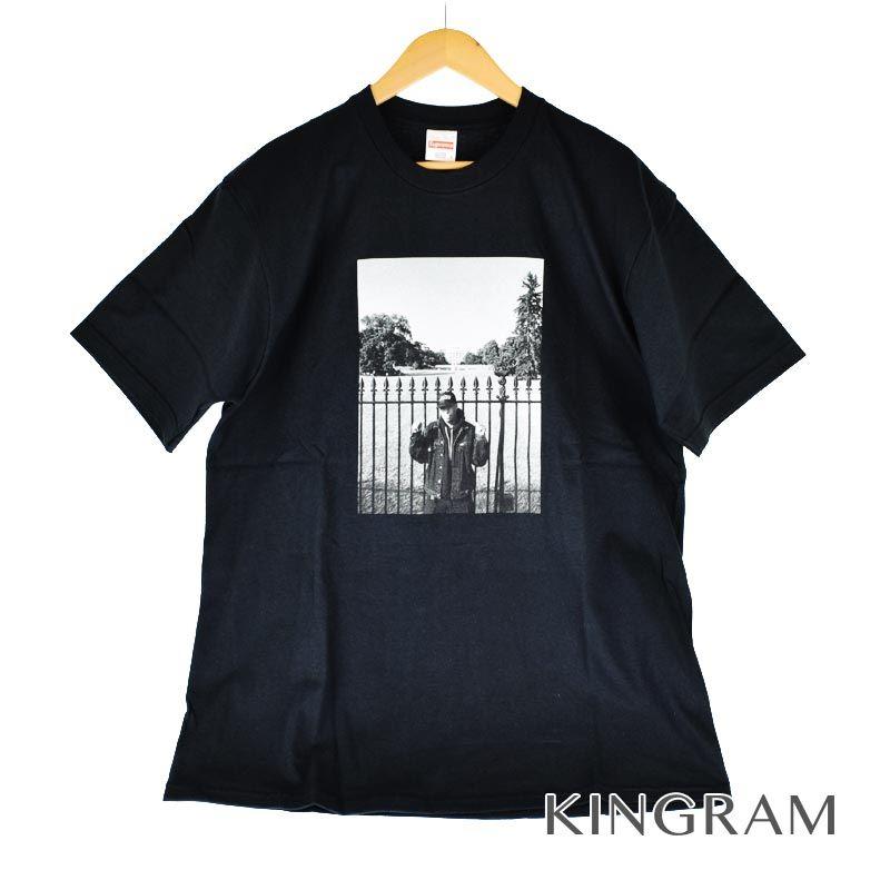 シュプリーム Supreme Tシャツ UNDERCOVER アンダーカバー White House Tee 黒 ブラック コットン メンズトップス rtk 【中古】