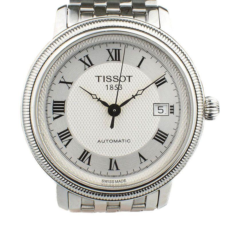 ティソ TISSOT Ref.T045407 Tクラシック ブリッジポートオートマチック ジェント 自動巻 メンズ 腕時計 rna 【中古】