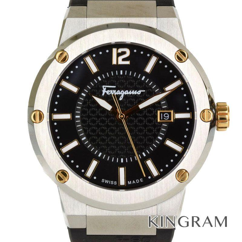 サルヴァトーレフェラガモ Salvatore Ferragamo Ref.FIF010015 ラバーベルト クォーツ メンズ 腕時計 rtk 【中古】