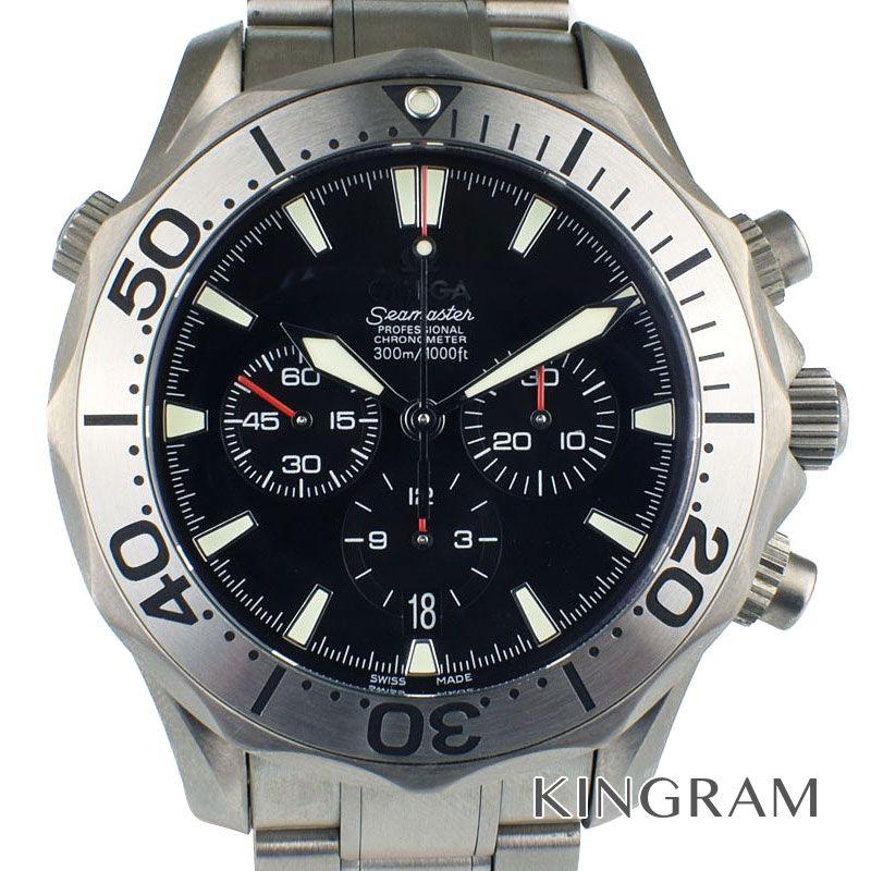 オメガ OMEGA シーマスター Ref.2293.52 プロフェッショナル 300 クロノグラフ 自動巻 メンズ 腕時計 rib 【中古】