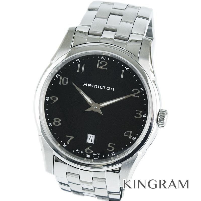 ハミルトン HAMILTON ジャズマスター Ref.H385111 シンライン クォーツ メンズ 腕時計 ec 【中古】