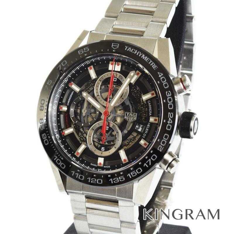 タグホイヤー TAG Heuer カレラ キャリバー ホイヤー01 クロノグラフ Ref.CAR2A1W.BA0703 自動巻 メンズ 腕時計 omas 【中古】