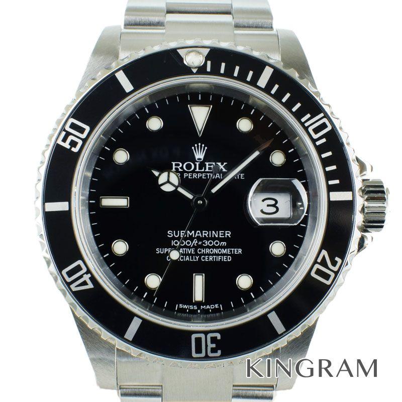 ロレックス ROLEX サブマリーナデイト Ref.16610T Z番 OH済 自動巻 メンズ 腕時計 ros 【中古】