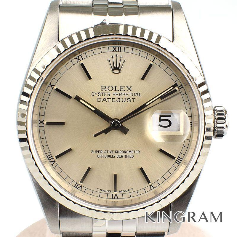 ロレックス ROLEX デイトジャスト Ref.16234 OH済 自動巻 メンズ 腕時計 rhr 【中古】