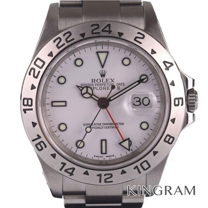 【メーカー直売】 ロレックス ROLEX エクスプローラー2 Ref.16570 OH済 自動巻 メンズ 腕時計 gi 【】, ALEGRE 4eb9c17d
