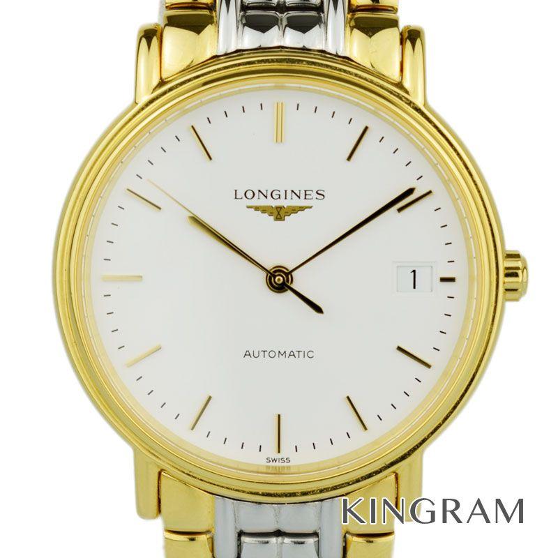 ロンジン LONGINES Ref.L4.821.2 グランドクラシック プレサンス 自動巻 メンズ 腕時計 rke 【中古】