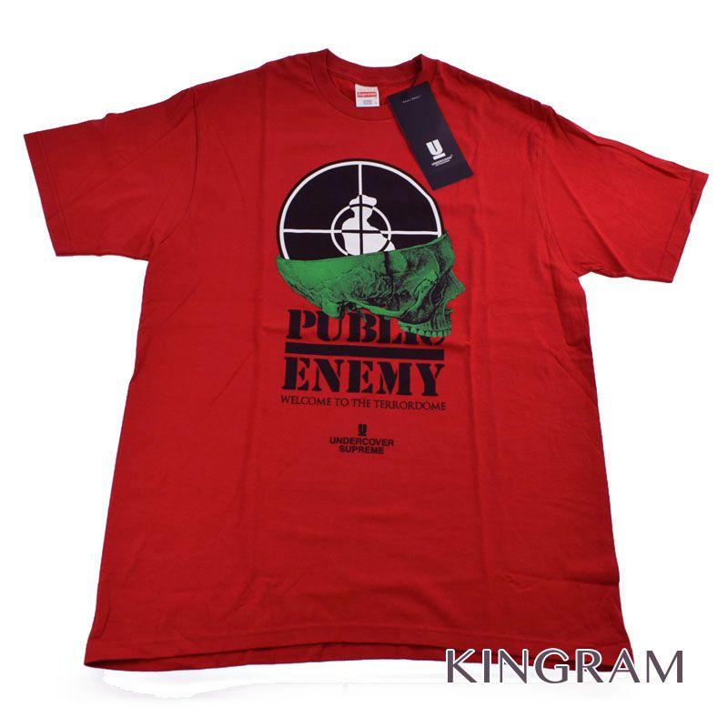 シュプリーム Supreme Tシャツ UNDERCOVER 18SS Public Enemy Terrordome Tee SP3801 B.RED コットン100% メンズトップス rtk 【中古】