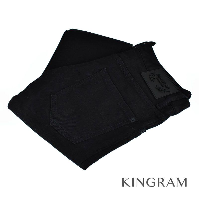 ディースクエアード DSQUARED2 24-7STAR スキニーパンツ BLACK 黒 綿98% メンズ ボトムス rtk 【中古】