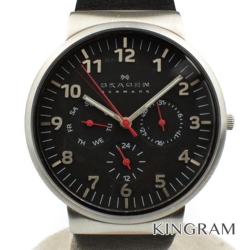 スカーゲン SKAGEN Ref.SKW6096 クォーツ 男女兼用腕時計 ko 【中古】