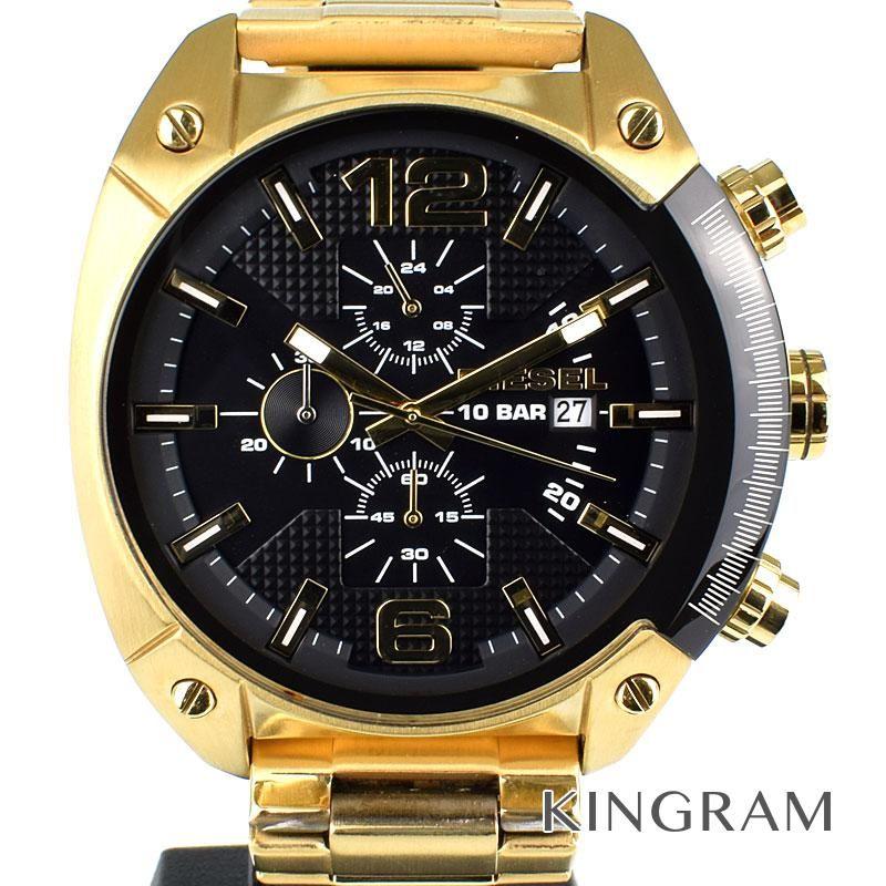 ディーゼル DIESEL Ref.DZ4342 クォーツ オーバーフロー アウトレット メンズ 腕時計 ec 【中古】
