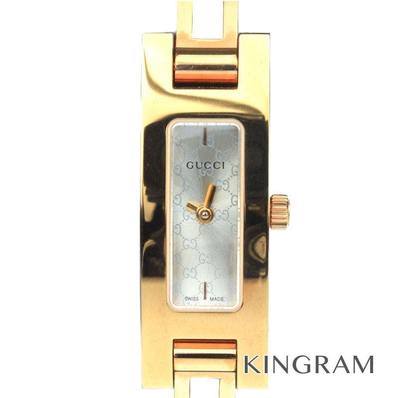グッチ GUCCI アウトレット Ref.YA039548 6800L クォーツ レディース 腕時計 ec 【中古】